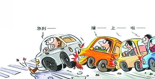 一车追尾引发多辆车连环相撞,车上乘客受伤向谁索赔?